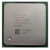 процессор сокет 478 Intel Pentium-4 3,0/1/800 SL79L