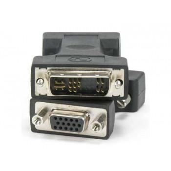 переходник DVI-A (Female) -VGA (Male) черный