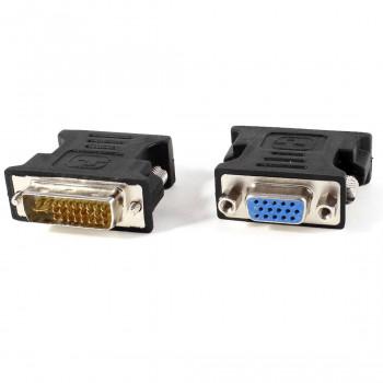 переходник DVI-I (Female) -VGA (Male) черный