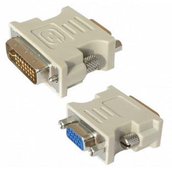 переходник DVI-I (Female) -VGA (Male) белый